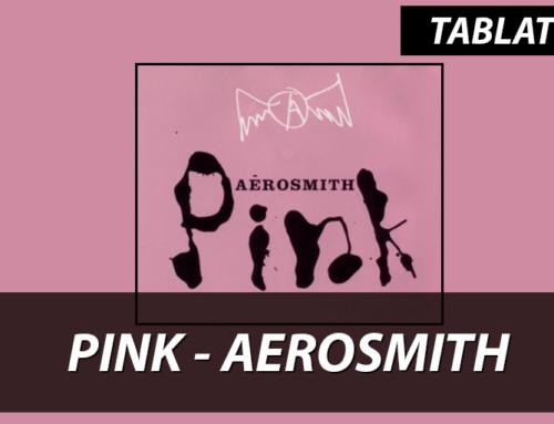 Pink Aerosmith